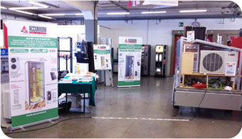 Information days at our customers